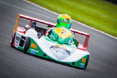 Superkart racer stars in Northern Ireland - The visitor