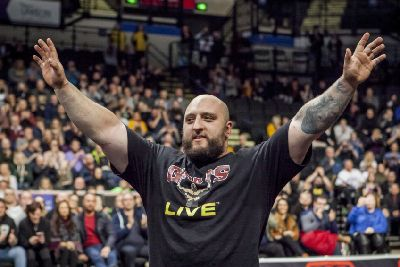 Morecambe strongman set to face Game of Thrones star - The