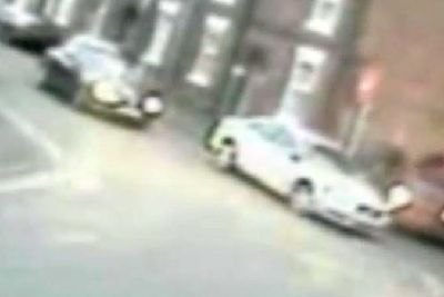 Video - CCTV footage shows man attempting to ram police