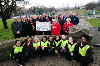 Celebrations as Leeds Chapeltown Road architecture project