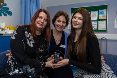 Leeds Children's Hospital Type 1 Diabetes patient first in country