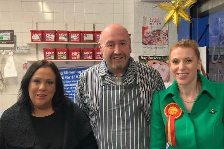 (LtR): Paula Sherriff, David Jones, Angela Rayner