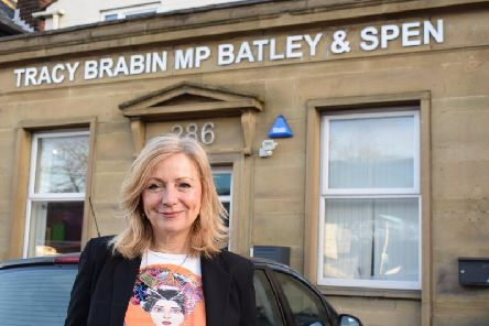 Tracy Brabin, MP for Batley and Spen