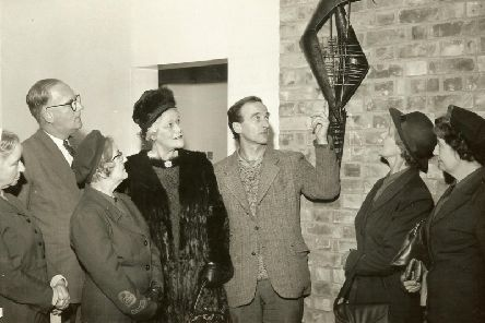 Mr Pope at the Pontefract General Infirmary, 1963