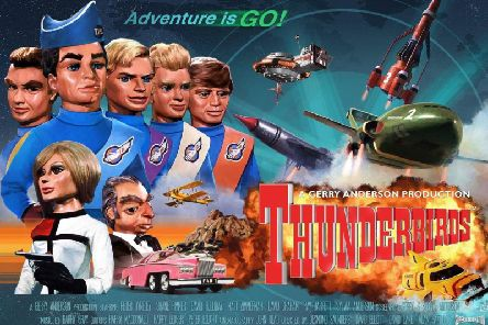 "Five, four, three, two, one. Thunderbirds are go! ''It was produced between 1964 and 1966 using a form of electronic marionette puppetry. ''Thunderbirds follows the exploits of the Tracy family, headed by American ex-astronaut Jeff Tracy. Jeff is a widower with five adult sons: Scott, John, Virgil, Gordon and Alan. They lived on Tracy Island.''Other characters included Brains, Lady Penelope and her chauffeur Parker.''There were five aircraft: Thunderbird 1: a hypersonic rocket plane used for fast response and disaster zone reconnaissance. Piloted by Scott, IR's rescue co-ordinator.''Thunderbird 2: a supersonic carrier aircraft that transports rescue vehicles and equipment in detachable capsules called ""pods"". Piloted by Virgil.''Thunderbird 3: a single-stage-to-orbit spacecraft. Piloted alternately by Alan and John, with Scott as co-pilot.''Thunderbird 4: a utility submersible. Piloted by Gordon and usually launched from Thunderbird 2.''Thunderbird 5: a space station that relays distress calls from around the"