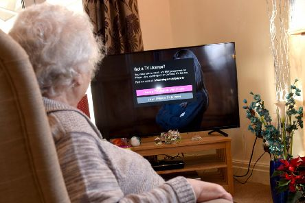 rule change: The BBC has scrapped the government-funded free over-75 TV Licence scheme.