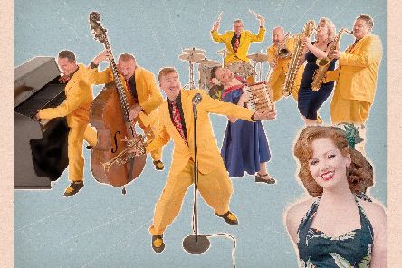 The Jive Aces play at Chesterfield's Winding Wheel on Friday, January 31.