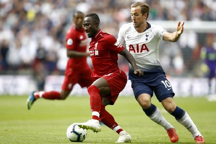 Midfielder Naby Keita, who could be sold by Liverpool this summer, according to today's transfer grapevine. (PHOTO BY: Julian Finney/Getty Images)