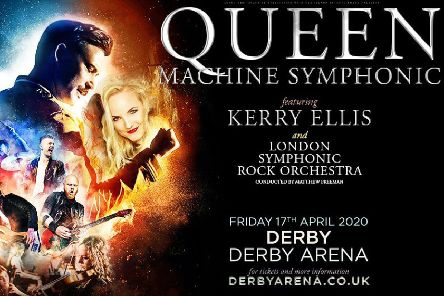 Tickets on sale now to see West End star Kerry Ellis with Queen Machine at Derby Arena