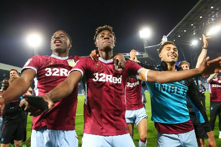 Shutting down Tammy Abraham (centre) will be key to Derby County's hopes.