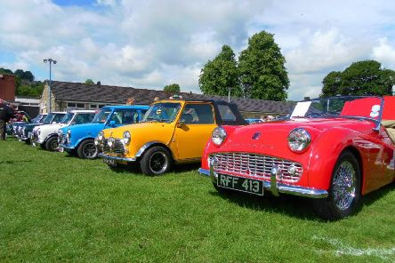 Cromford Classic Car & Bike Show.