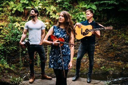Award-winning Scottish folk aces Talisk are heading for Belper