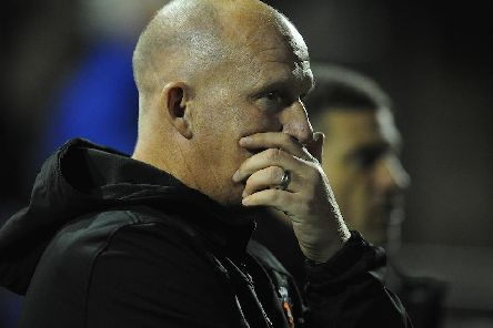 Grayson was highly critical of his players after last night's defeat