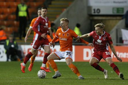 Callum Guy had to settle for a bench spot against Morecambe but again impressed boss Simon Grayson