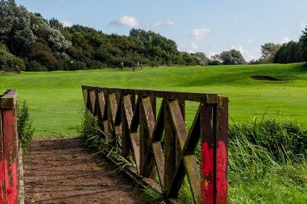 Part of the Stanley Park course which is under threat
