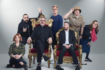 An earlier episode of Taskmaster on Dave