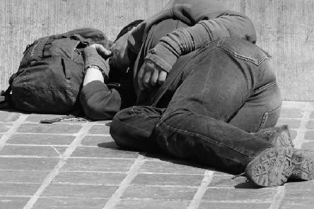 There are 15 people sleeping rough on resort streets in 2019