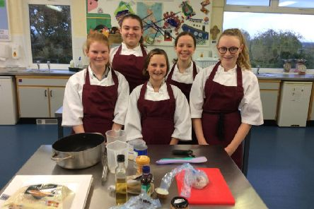 Saint Aidan's High School Young Chef Competition