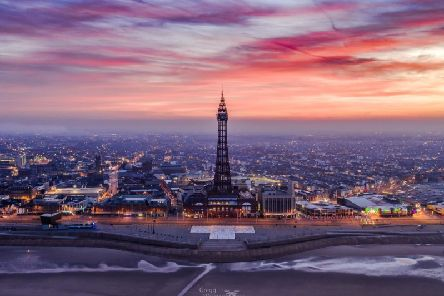 The shortlisted image of Blackpool Tower (Pic: Gregg Wolstenholme)