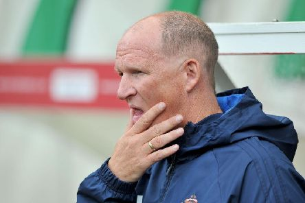 Simon Grayson was sacked by Sunderland in October 2017