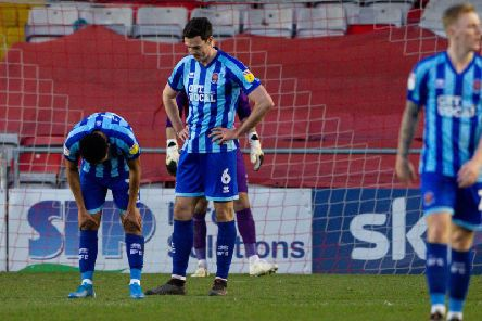 Heneghan can't hide his disappointment after Blackpool conceded against Lincoln on Saturday