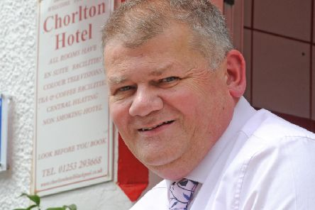 Ian White of Stay Blackpool, the hoteliers group