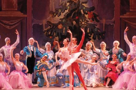 Russian State Ballet of Siberia performing the Nutcracker
