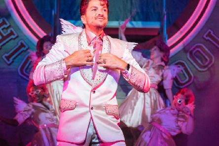 Peter Andre will appear in Blackpool for  two shows with Grease The Musical