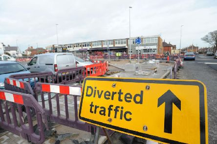 Roadworks and closures are affecting businesses around Red Bank Road in Bispham
