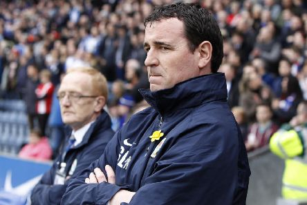 Blackburn manager Gary Bowyer, seen above during his Blackburn Rovers' tenure, has been appointed as Bradford manager until the end of the season. Picture: Peter Byrne/PA