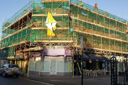 Lythams new hotel is due to open in May