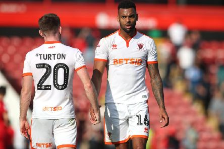 Ollie Turton and Curtis Tilt have been missing for Blackpool in recent weeks