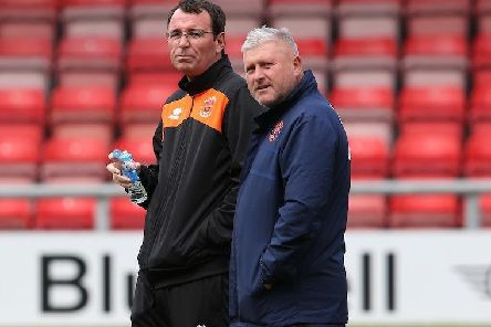 Gary Bowyer and Terry McPhillips are going head to head tomorrow