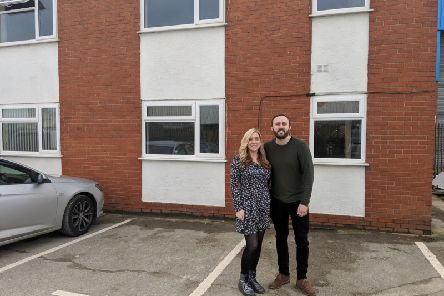 Nicky and Mary Speakman at the new Code Galaxy premises