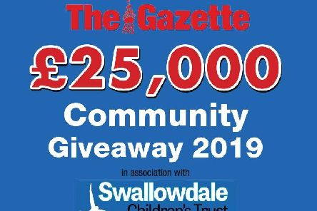 The Gazette's 25,000 Community Giveaway 2019 in association with Swallowdale Children's Trust