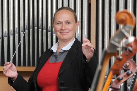 New musical director of Fleetwood and District Choral Society, Margaret Young