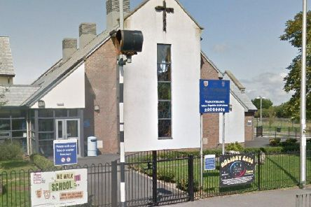 St Nicholas Church of England Primary School in School Road, Marton