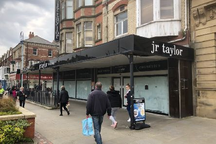 The former JR Taylor store in St Annes