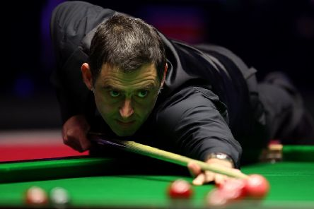 Ronnie O'Sullivan meets James Cahill this afternoon
