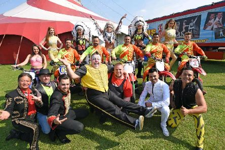 Stevens will be joining Planet Circus at Jubilee Gardens.