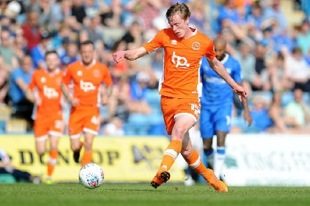 Longstaff in action for the Seasiders during the 2017/18 campaign