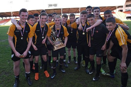 Lytham St Annes Technology and Performing Arts College won the Harry Johnston Cup   Picture: DANIEL MARTINO