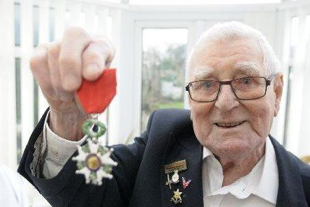 Derek Coyle joined the Royal Marines in 1942.