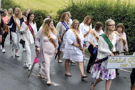 St. Michael's on Wyre Gala Queens 1969-2019