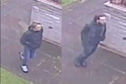The two men police want to identify.