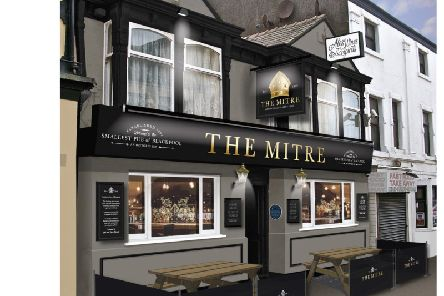 An image of how the Mitre will look