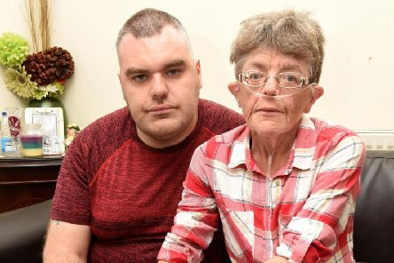 Sharon Heywood and son Daniel invited Edward Plumb, 28, into their home