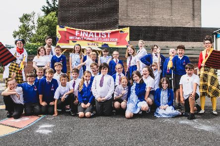 Class 6A came third in Britain's Funniest Class competition