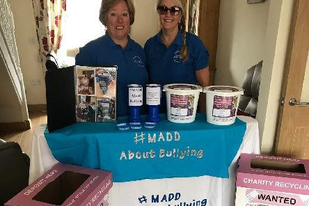Tracy Coxey (left),  secretary of MADD, with MADD chairman and events coordinator, Michelle Atherton