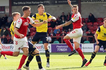 Peter Clarke scored the winner as Fleetwood Town saw off Oxford United last weekend